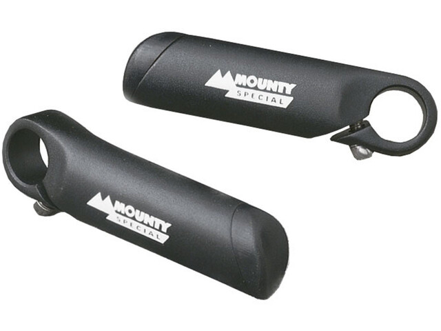 Mounty Power bar ends, black